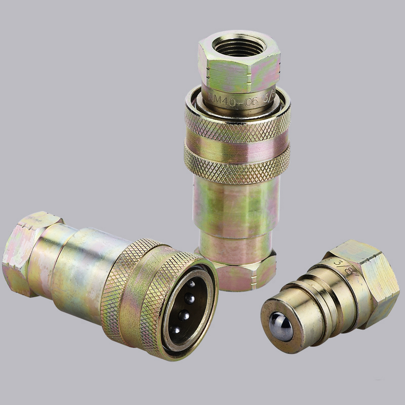 ISO5675 S4中國Supplier Hydraulic Quick Coupler Connect在壓力下聯結